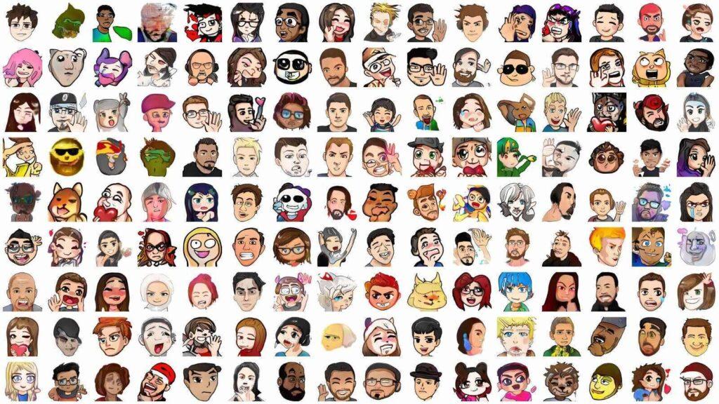 emotes list
