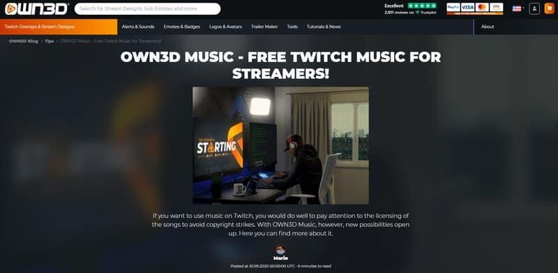OWN3D Music