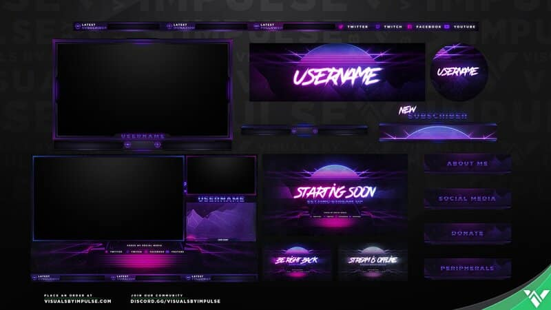 visuals by impulse overlays