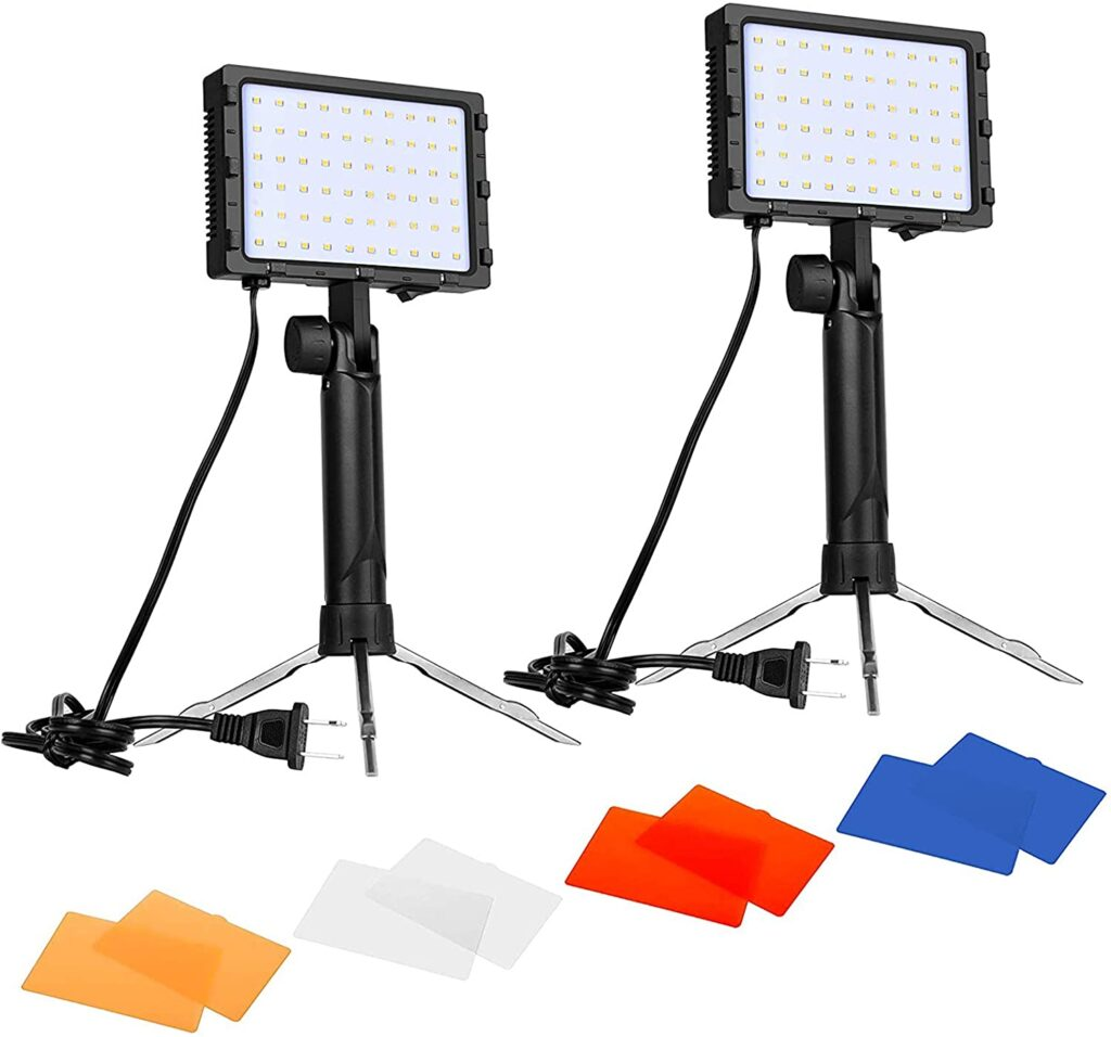 Emart 60 LED Continuous Portable Lighting Kit