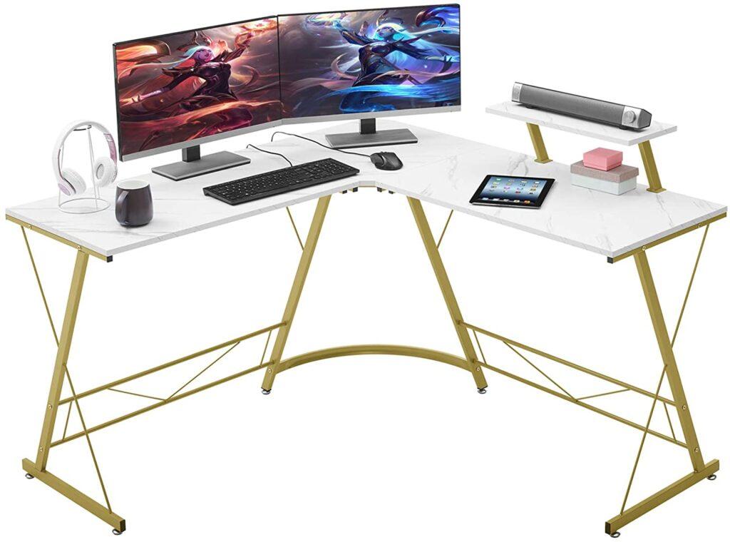 Mr IRONSTONE L-Shaped Desk