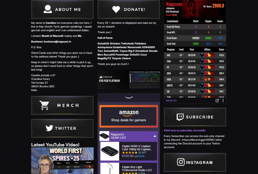 How to Make Your Twitch Page Look Good