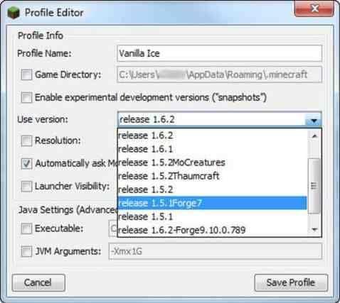 Modify the Minecraft.exe file