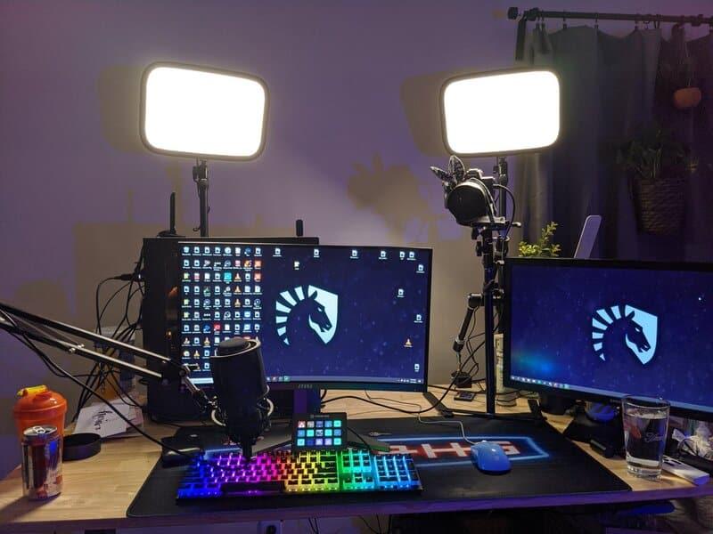 fill light for streaming