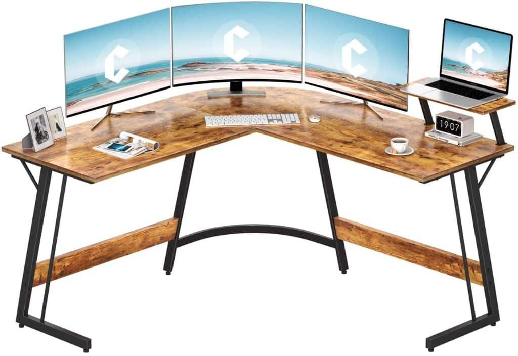 Cubiker Modern L-Shaped Desk