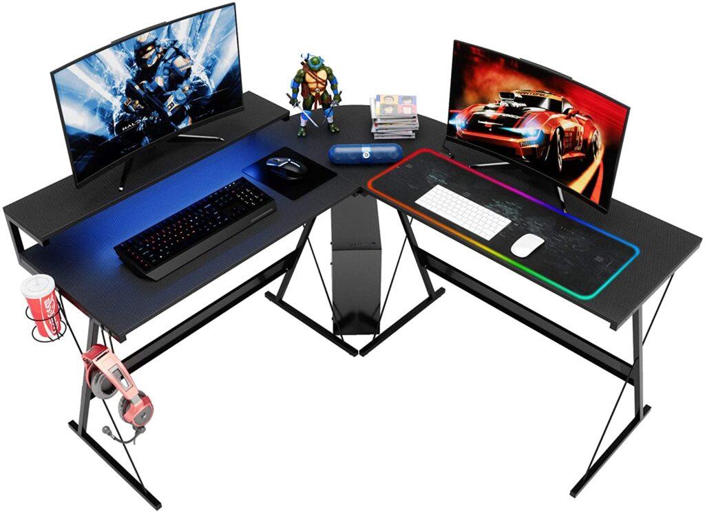 Bestier Led Gaming Desk
