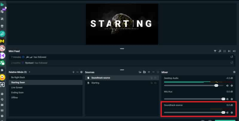 how to add music to streamlabs obs