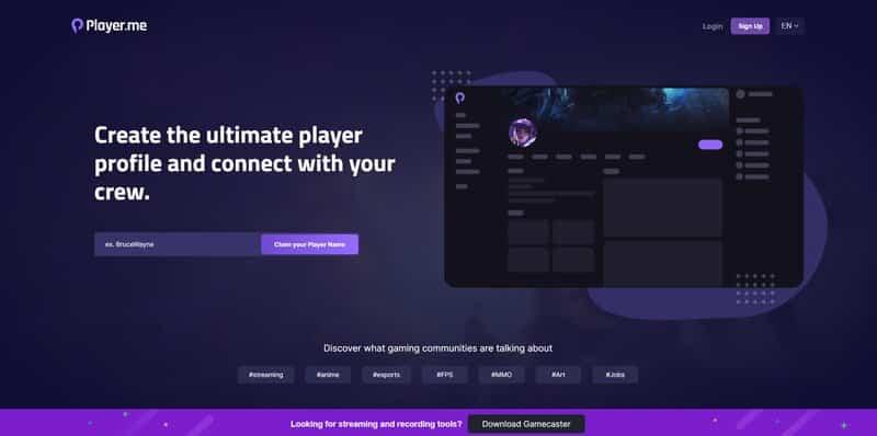 Player.me overlays