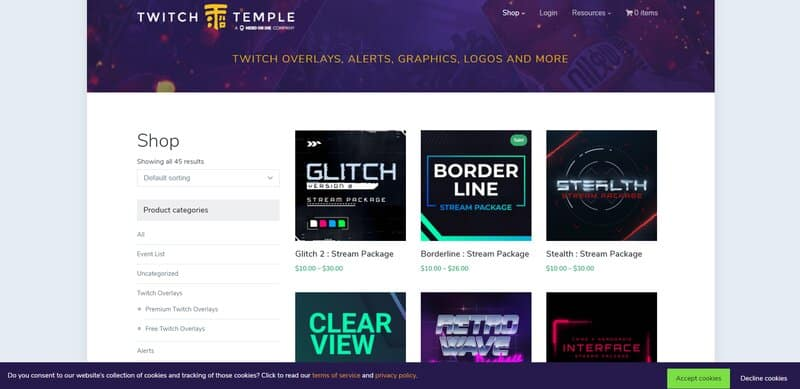 Twitch Temple