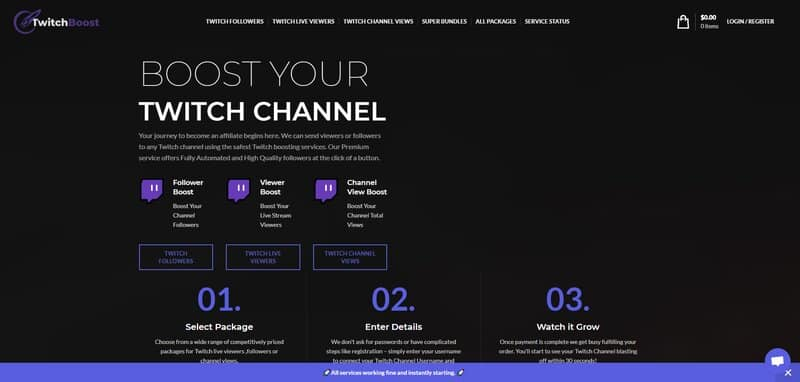 Twitch Booster