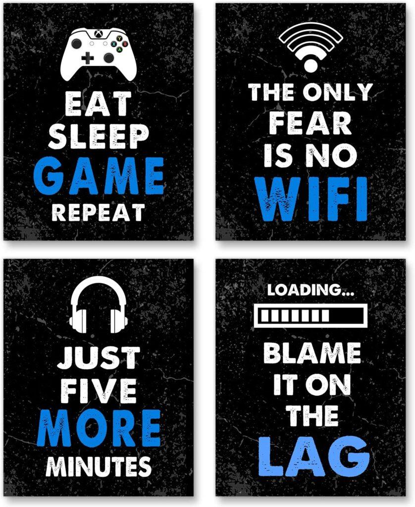 Video Game Decor Set