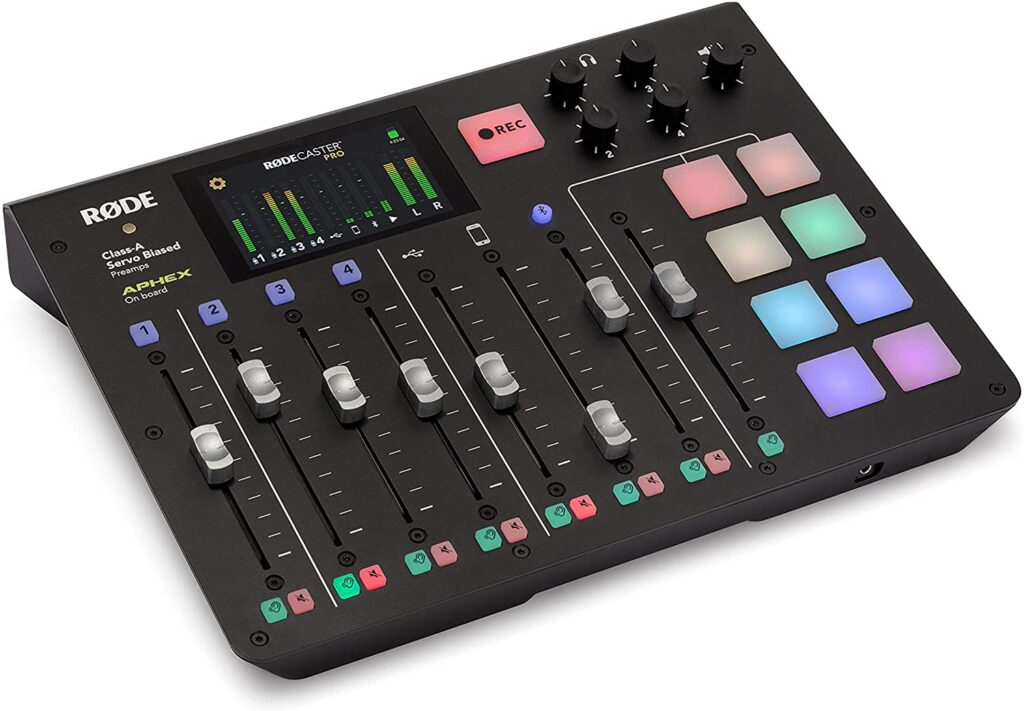 RODECASTER PRO Production Studio