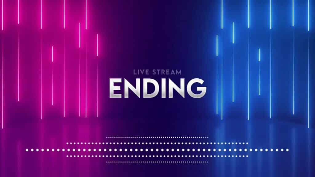 Stream Ending Screen