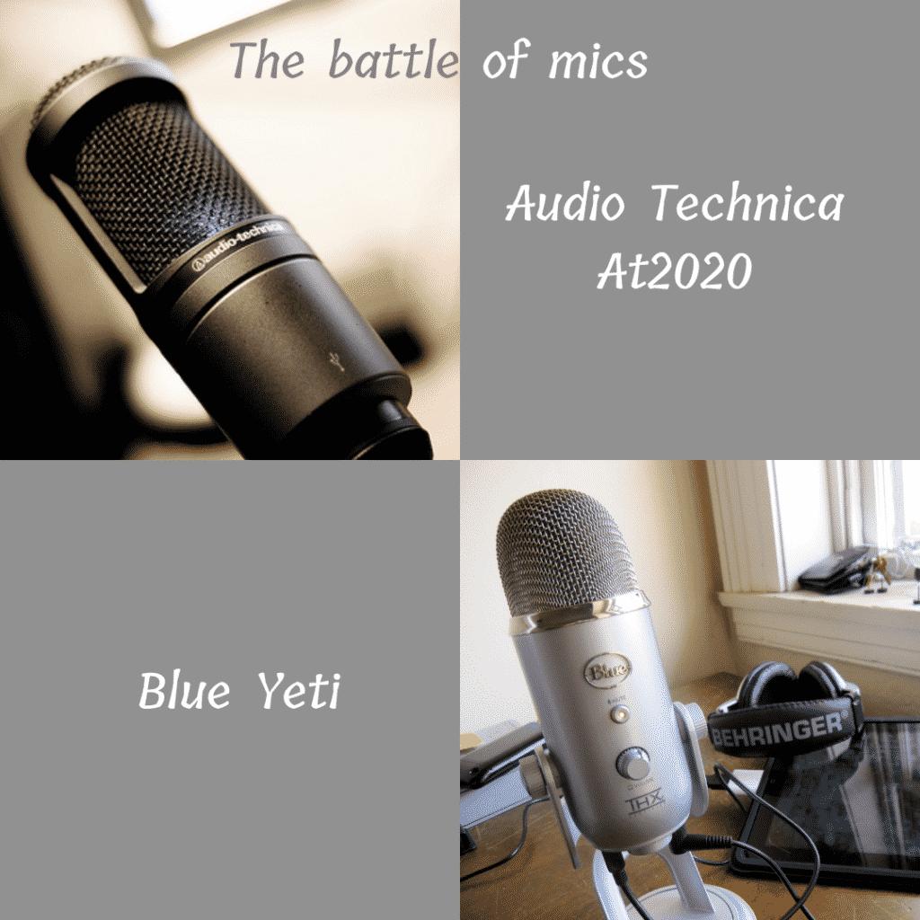 AT2020 vs Blue Yeti