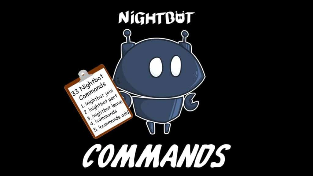 Nightbot Commands